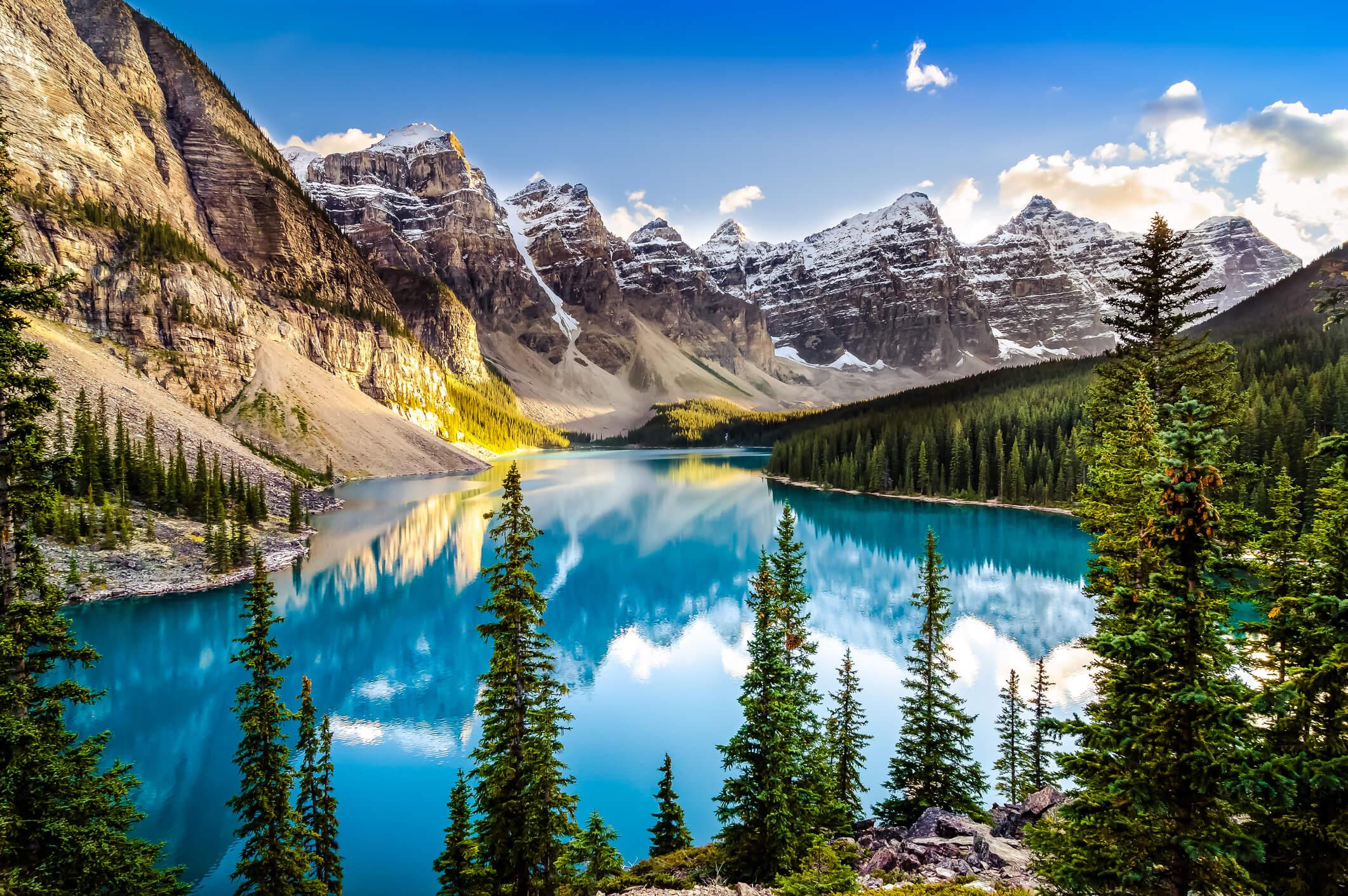 cómo hacer maletas, Parque Nacional Banff