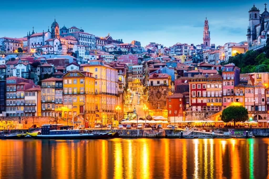 Vuelos a Portugal, Río Duero