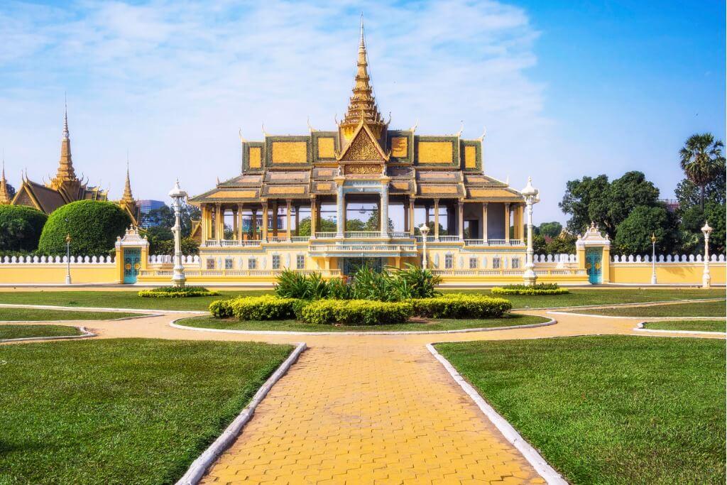 Sudeste Asiático, Palacio Phnom Penh