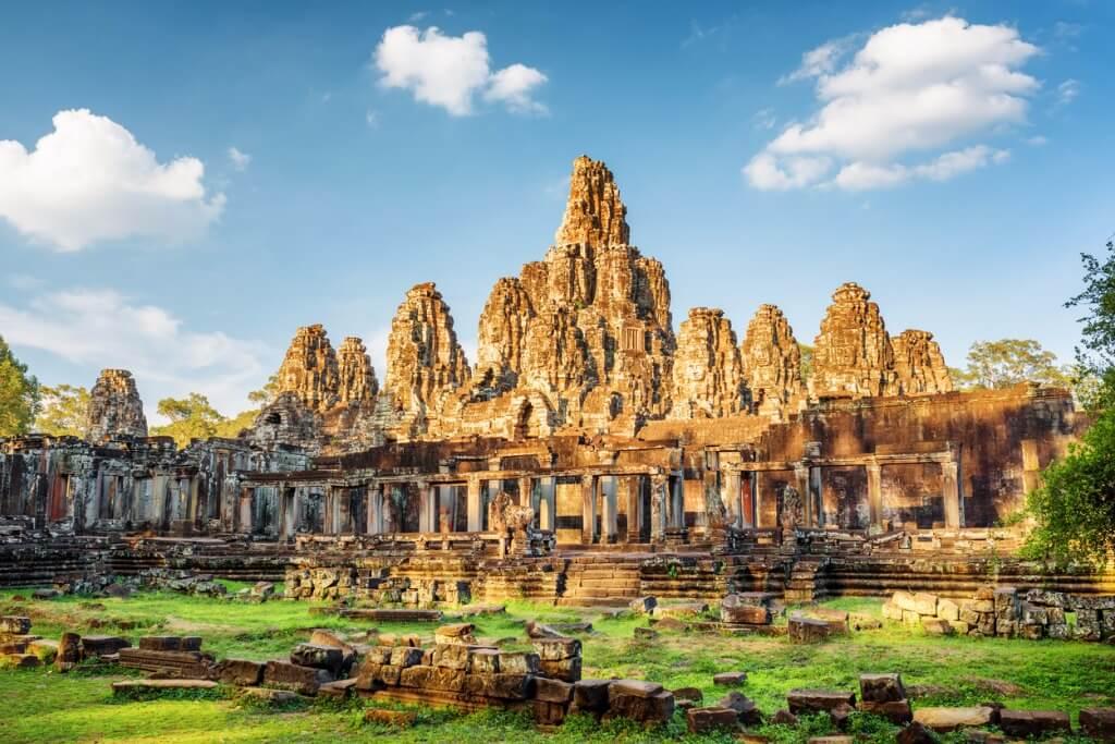 Sudeste asiático, Templo Bayon en Camboya