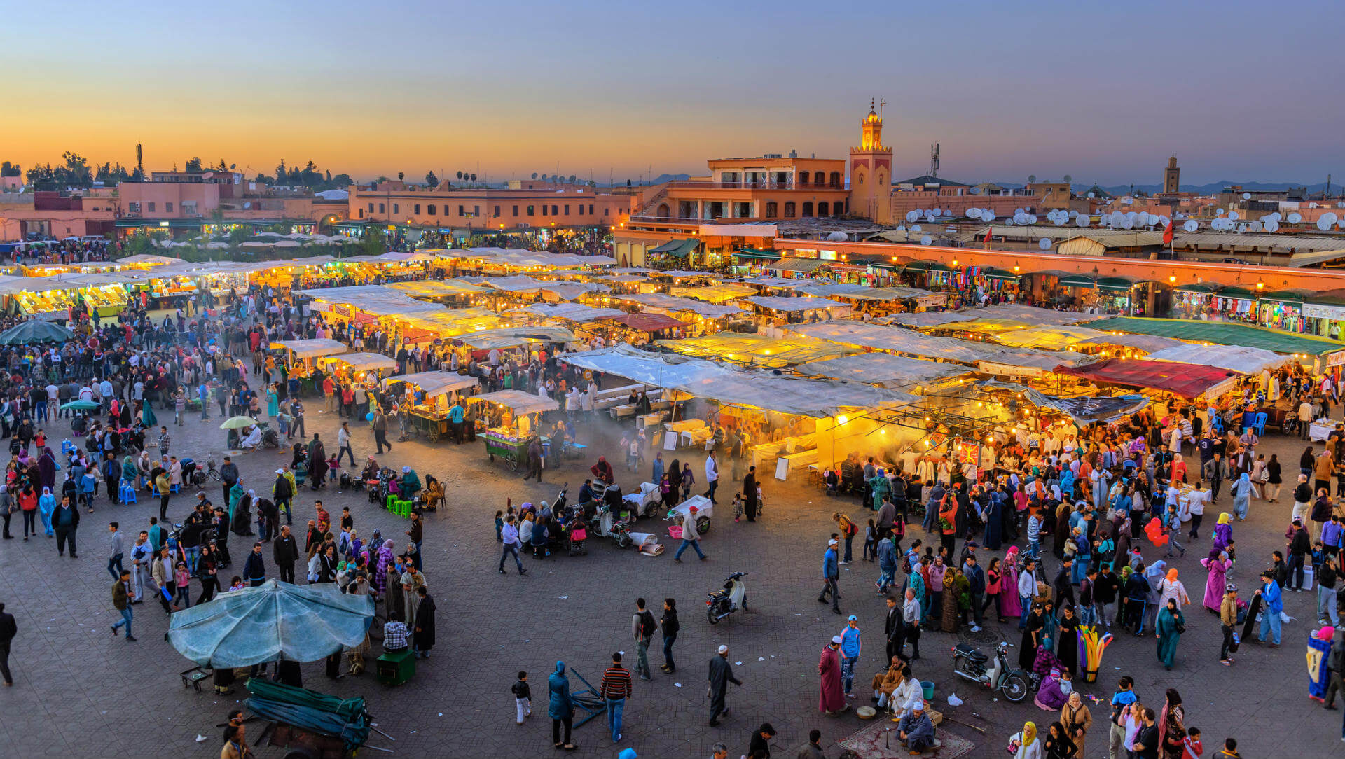 Viaje a Marrakech, Plaza Jamaa El Fna