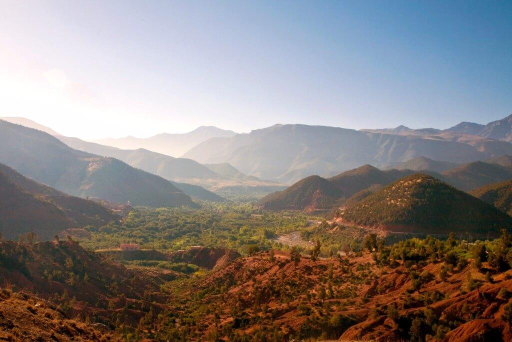 Viaje a Marruecos, Valle de Ourika