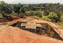 Visitar Lalibela, Iglesia St. George en Etiopía
