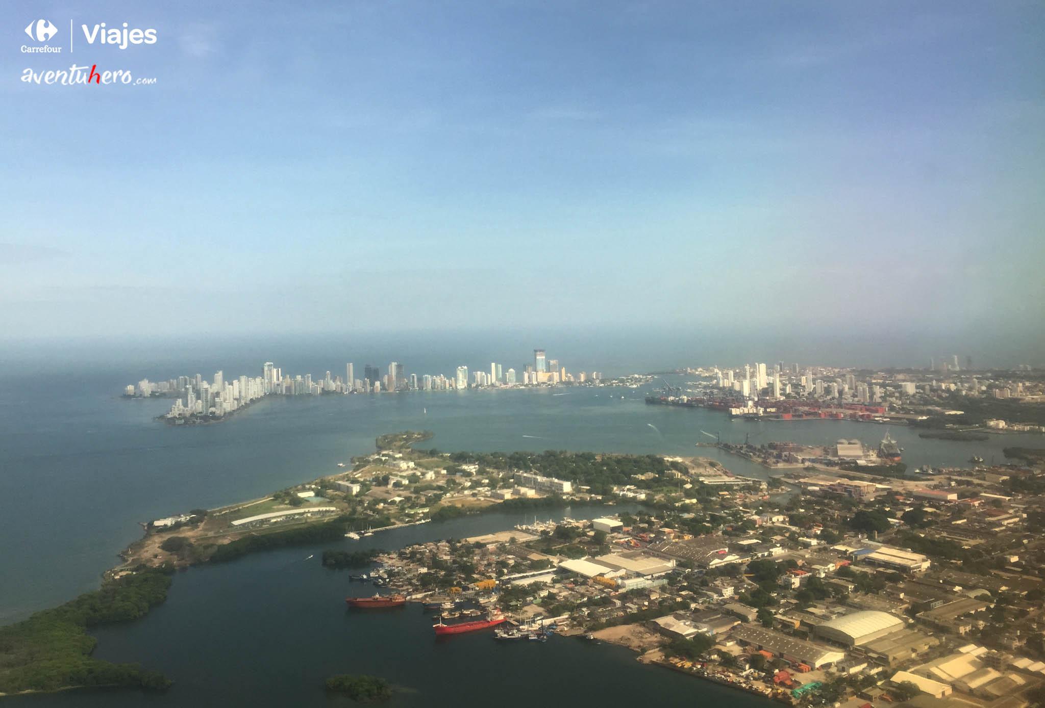 Cartagena desde la ventanilla
