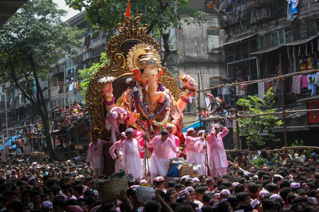 Festivales, Homenaje a Ganesha en la India