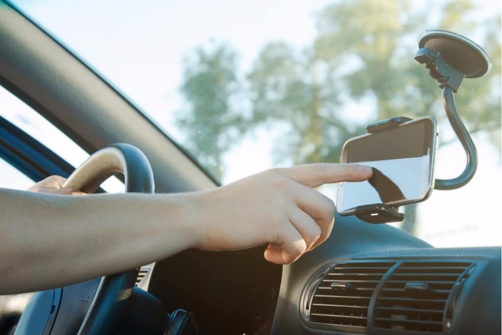 Apps para viajeros, Usando app GPS