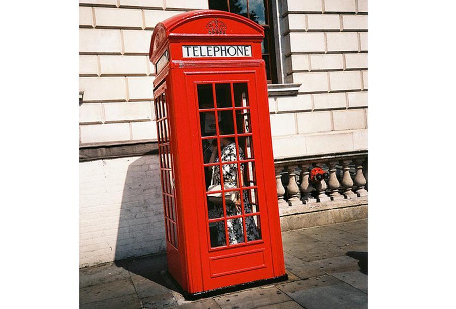 cabina teléfono