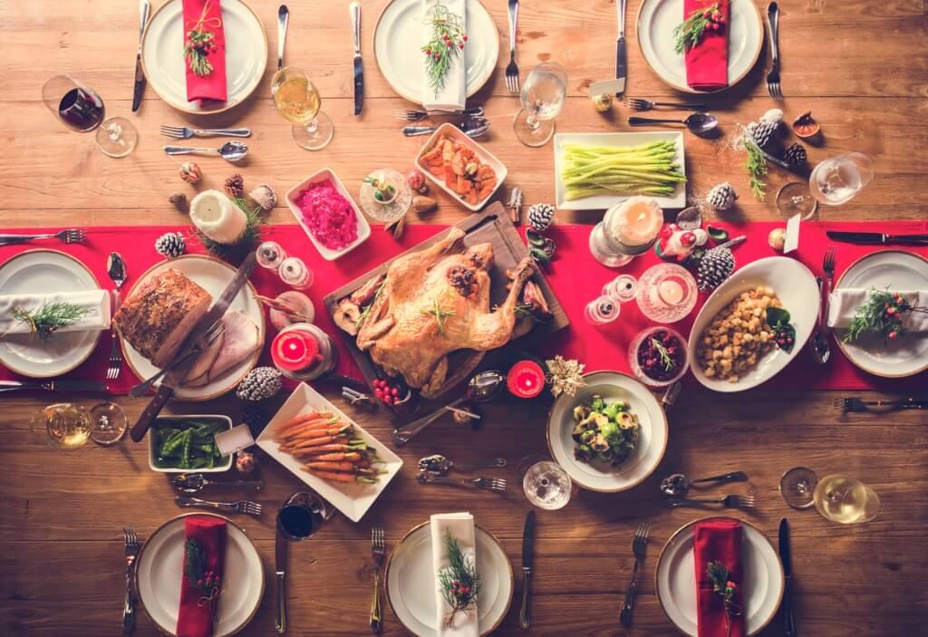 Cena Nochebuena, Típica comida Nochebuena
