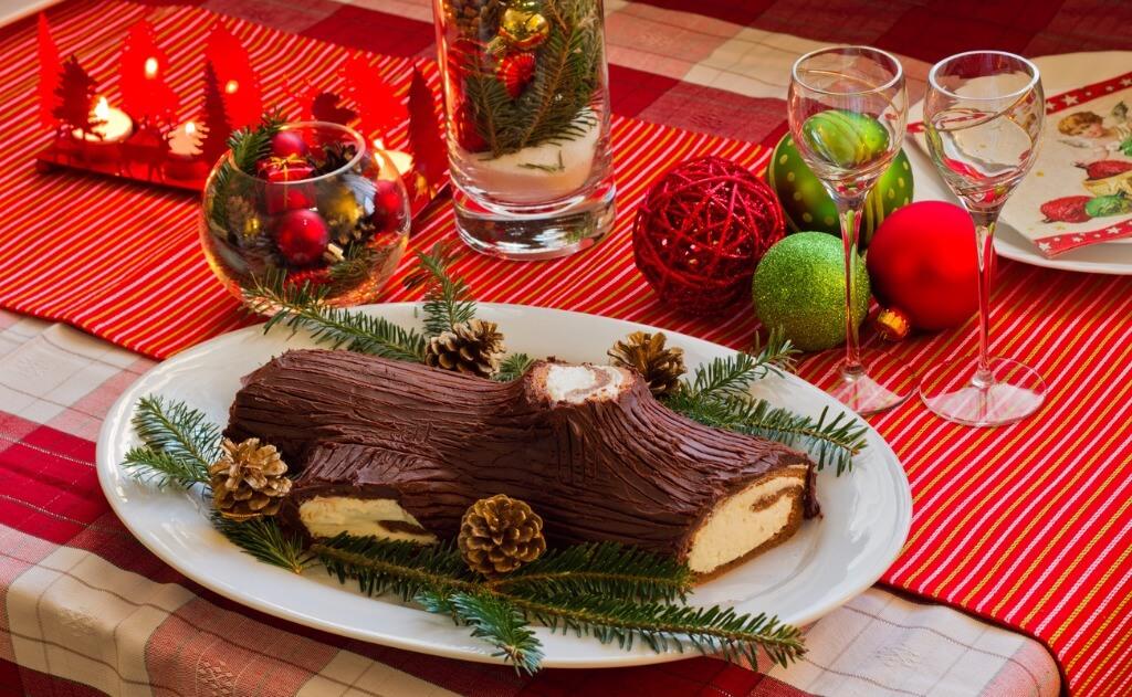 Cena Nochebuena, Tronco de Navidad