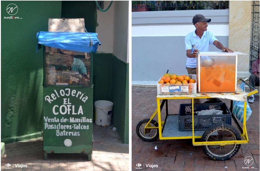 Artesanos y reparadores en las calles de Cartagena