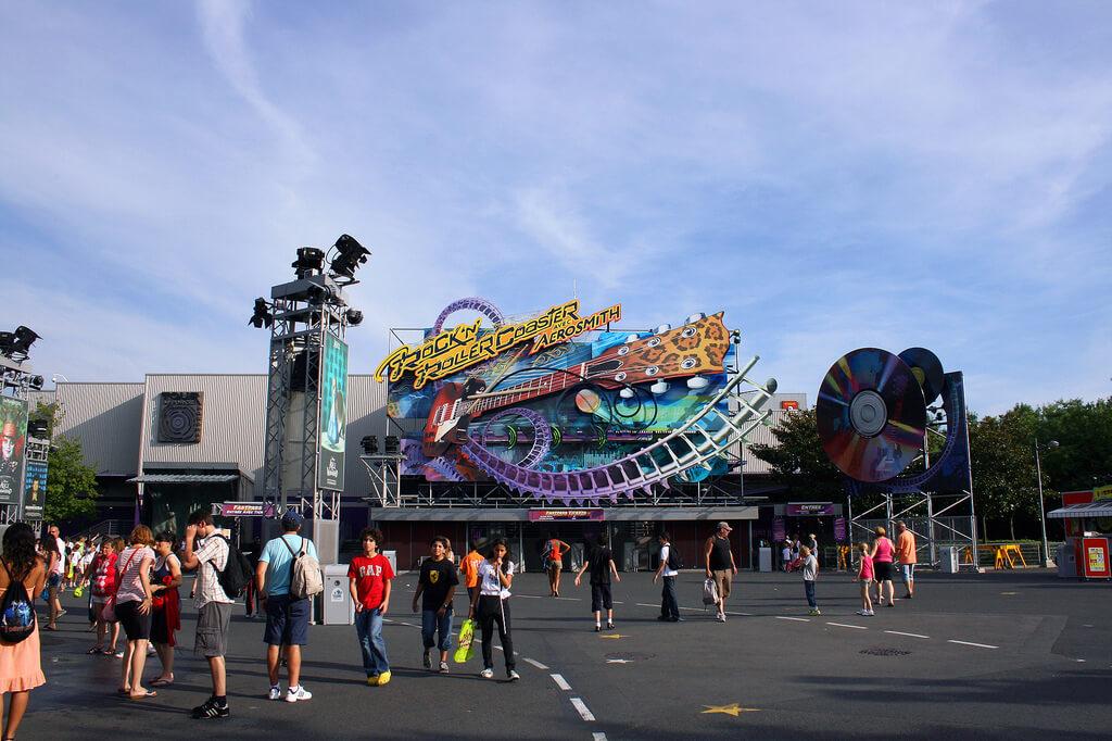 Disneyland París, Rock'n Roller Coaster
