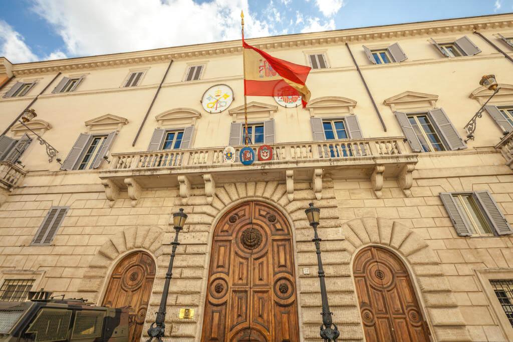Embajada española en Roma