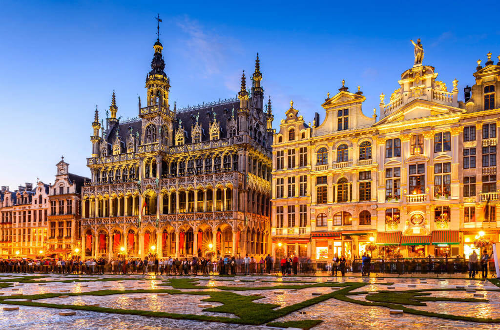 Guía escapada a Bruselas, Grand Place