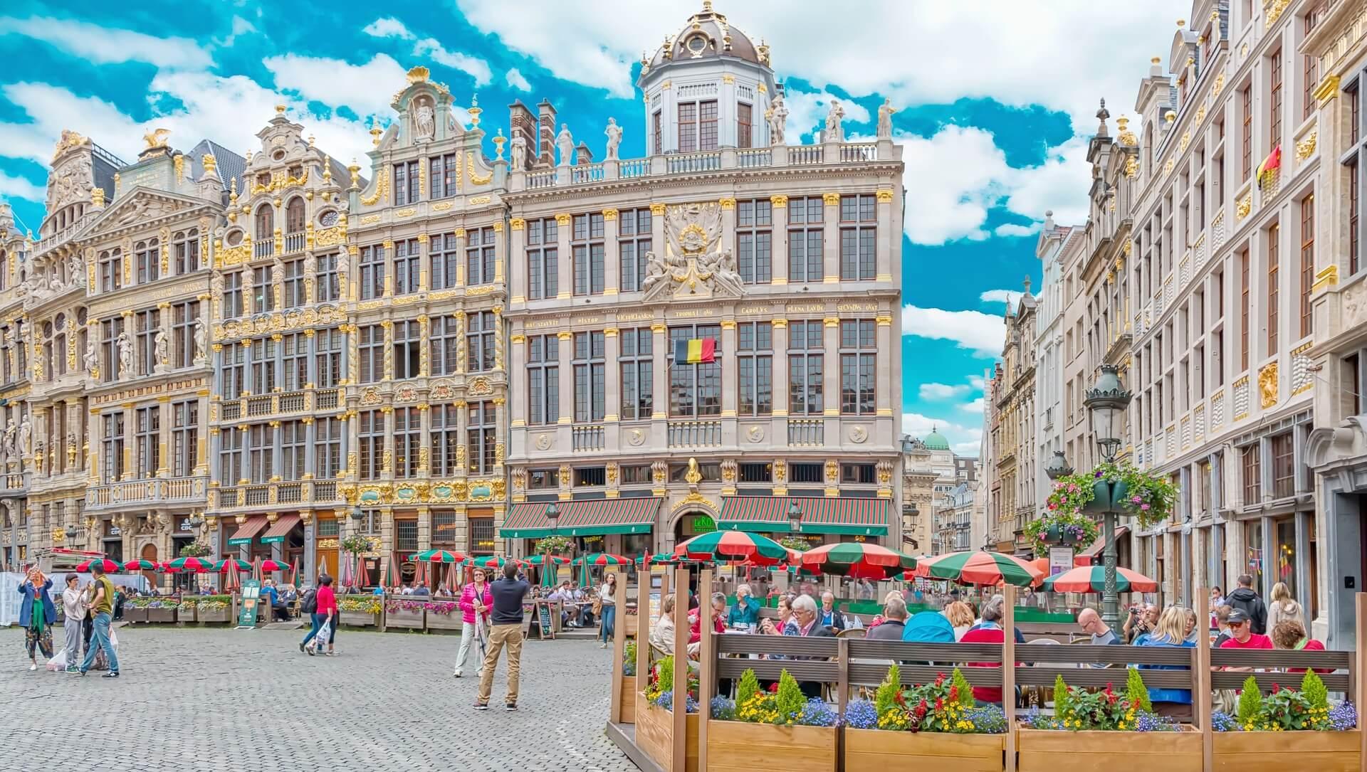 guia escapada bruselas plaza centro