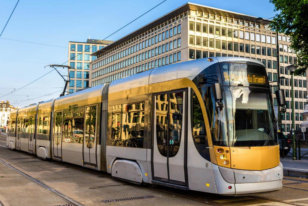 Guía escapada a Bruselas, Tranvía