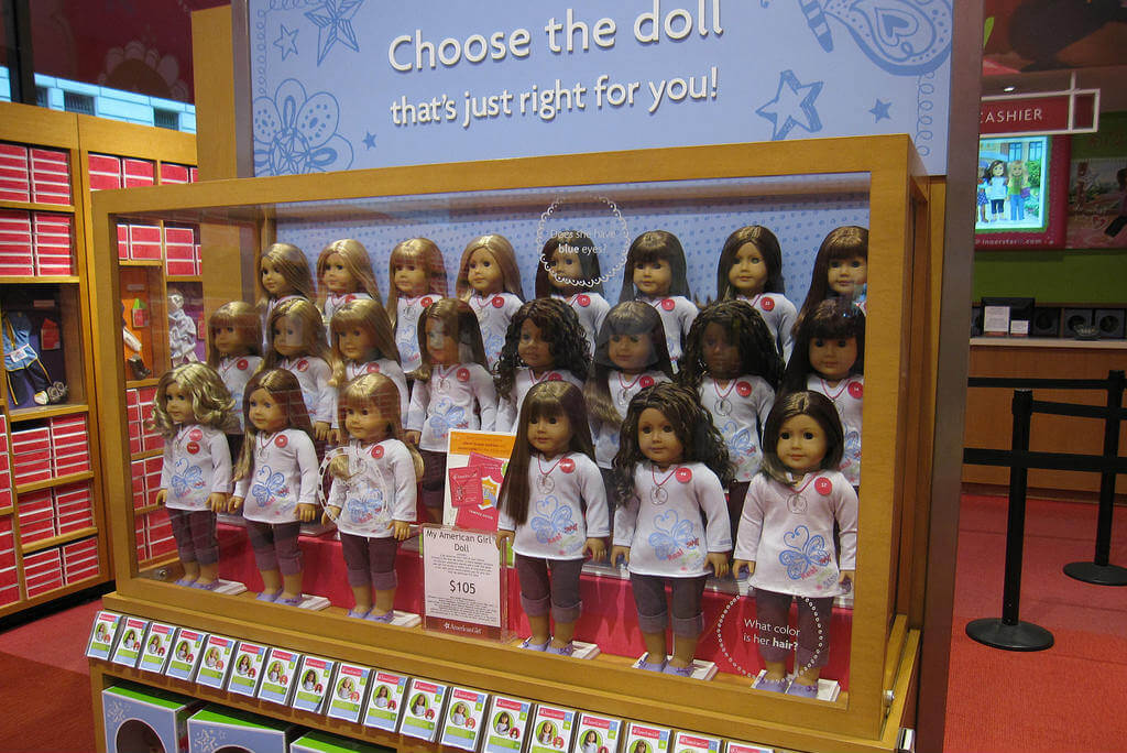 jugueterias, American Girl Place