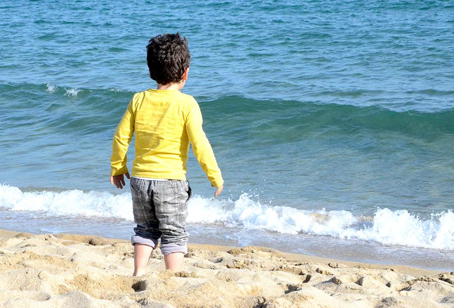ninos playa