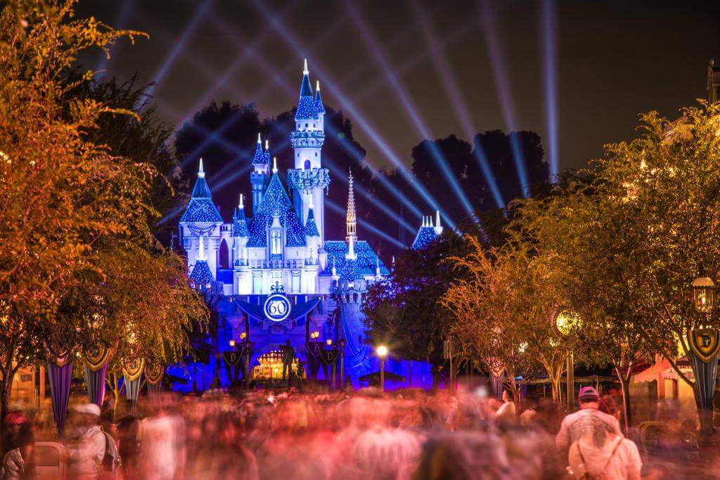 Nochevieja en Disneyland, Castillo de Disney