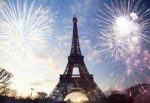 Nochevieja en Disneyland, Fuegos artificiales en Torre Eiffel