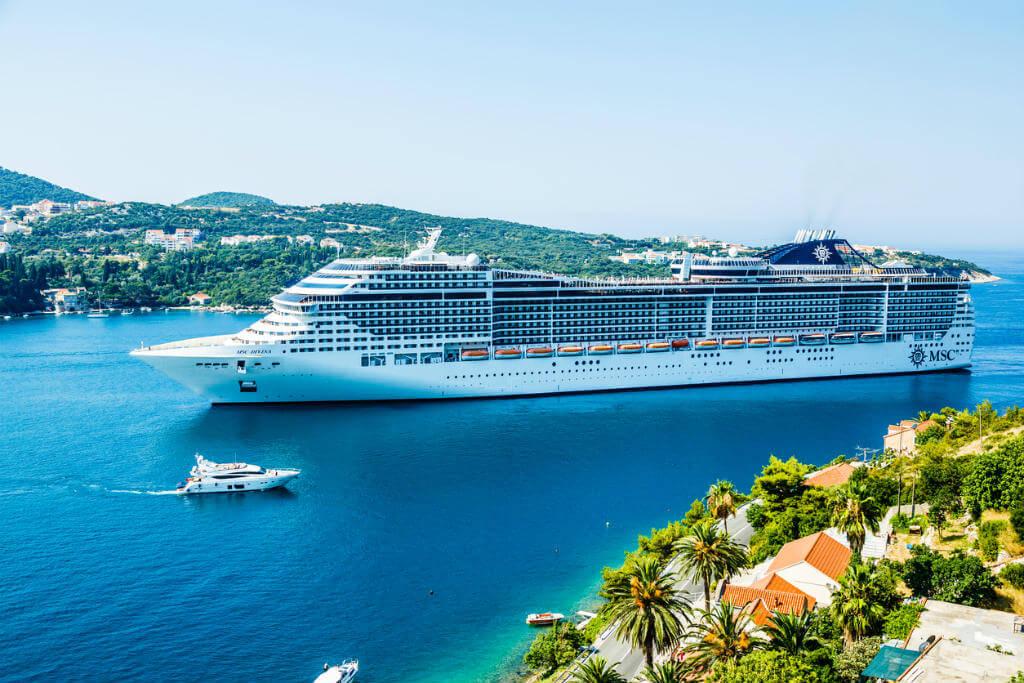 Nochevieja en un crucero, Nochevieja en Dubrovnik