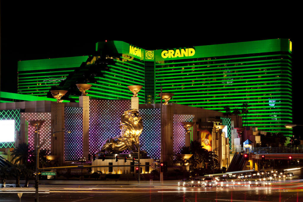 Viajar a Madrid, MGM Grand Hotel