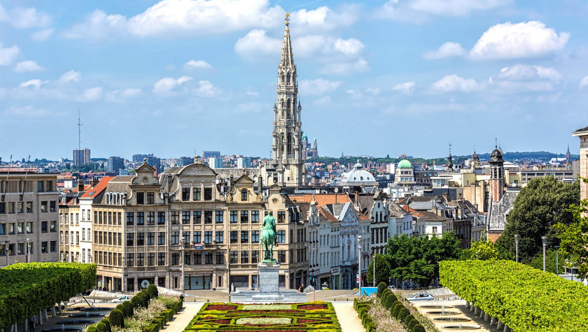 vuelos a bruselas plaza grande