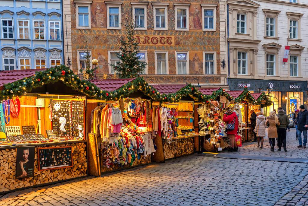 Vuelos a Praga, Mercadillo de Navidad
