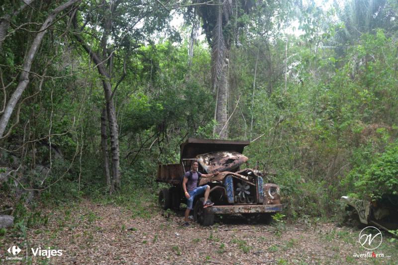 Coches abandonados en Tayrona