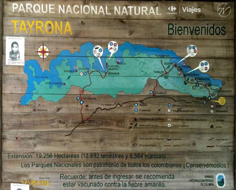 Mapa Tayorna