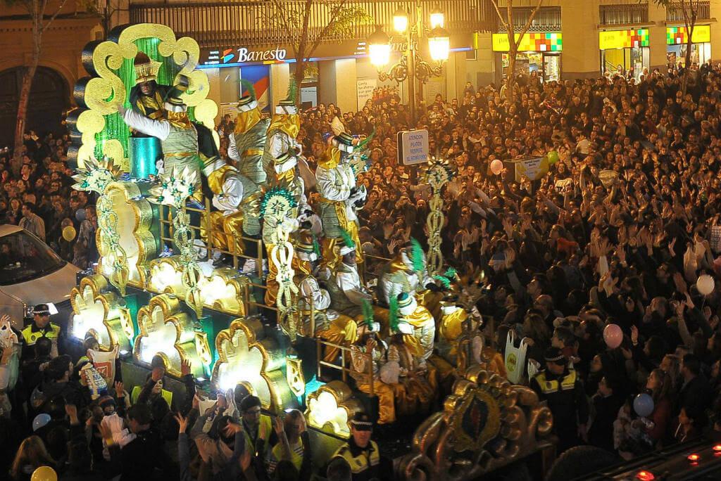 Alcoy, Desfile cabalgata de Reyes
