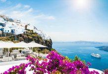 Crucero por el Mediterráneo, Santorini