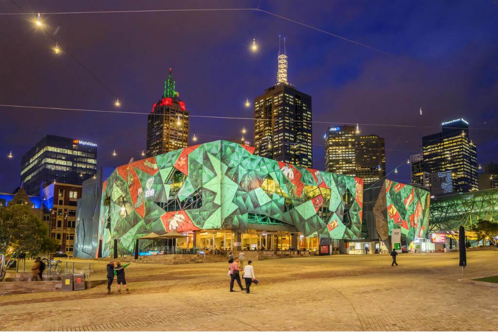 Melbourne en Navidad