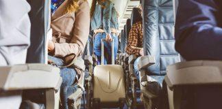 Viajar en avión, Pasajeros