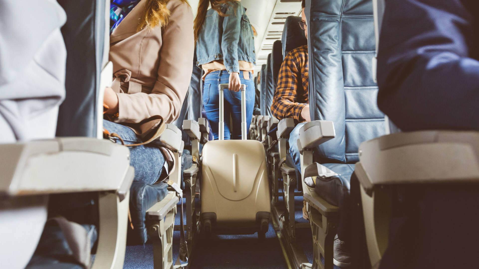 pasajeros avio