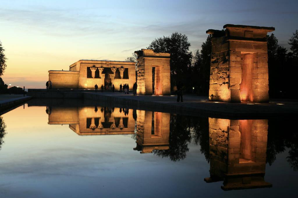 Planes baratos Madrid, Templo de Debod