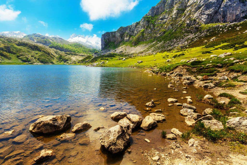 Ruta del Cares, Lago Ercina