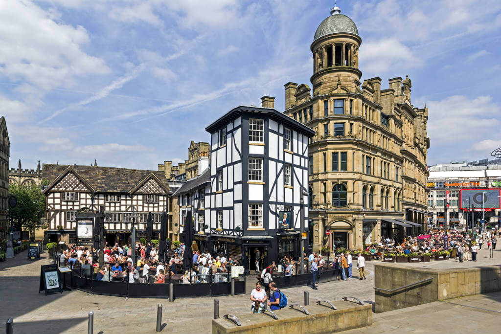 Viajar a Inglaterra, Manchester