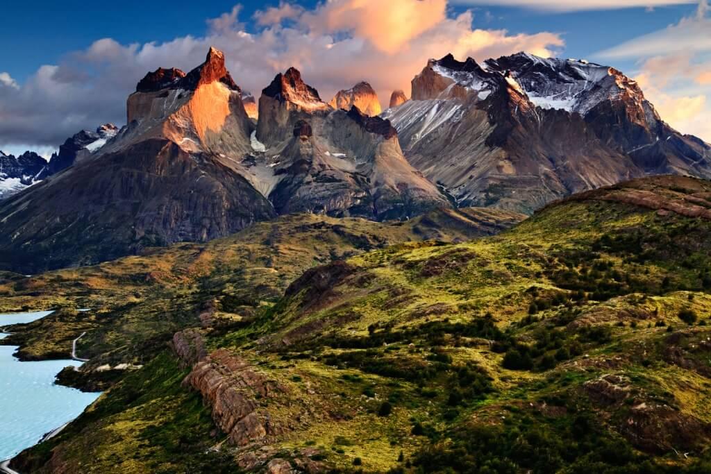 Viajar a Los Andes, Panorámica cordillera