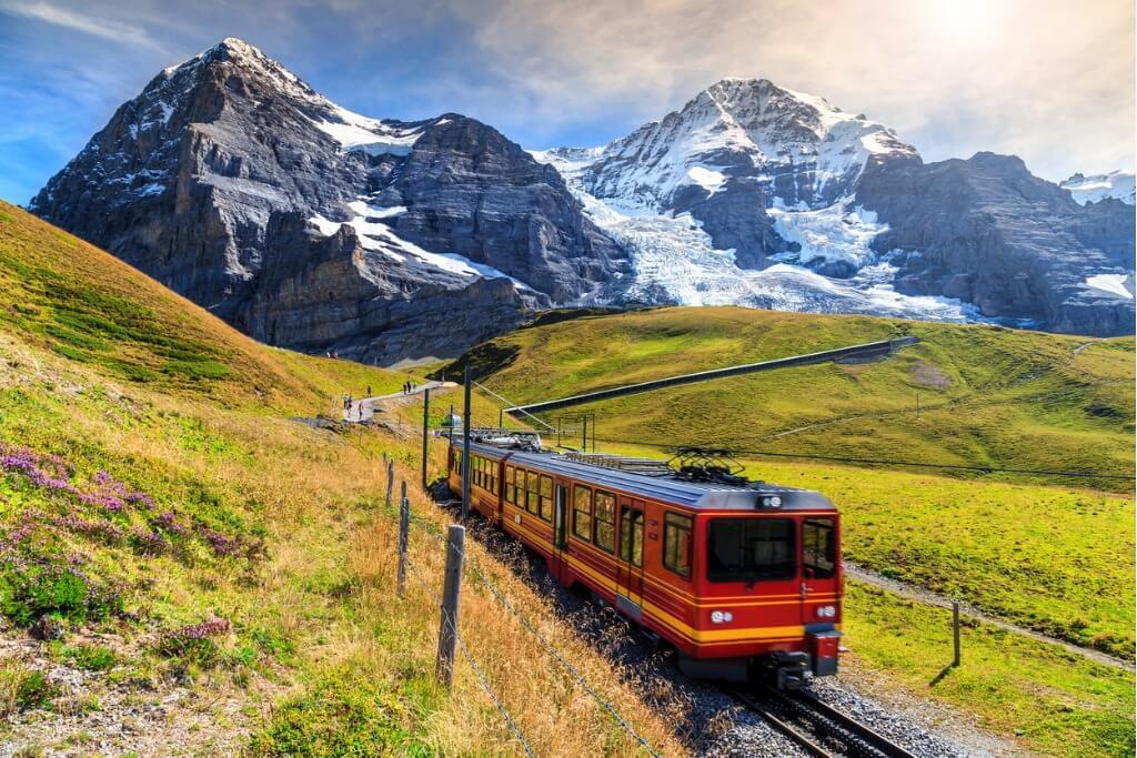 Viajar a Suiza, Interlaken