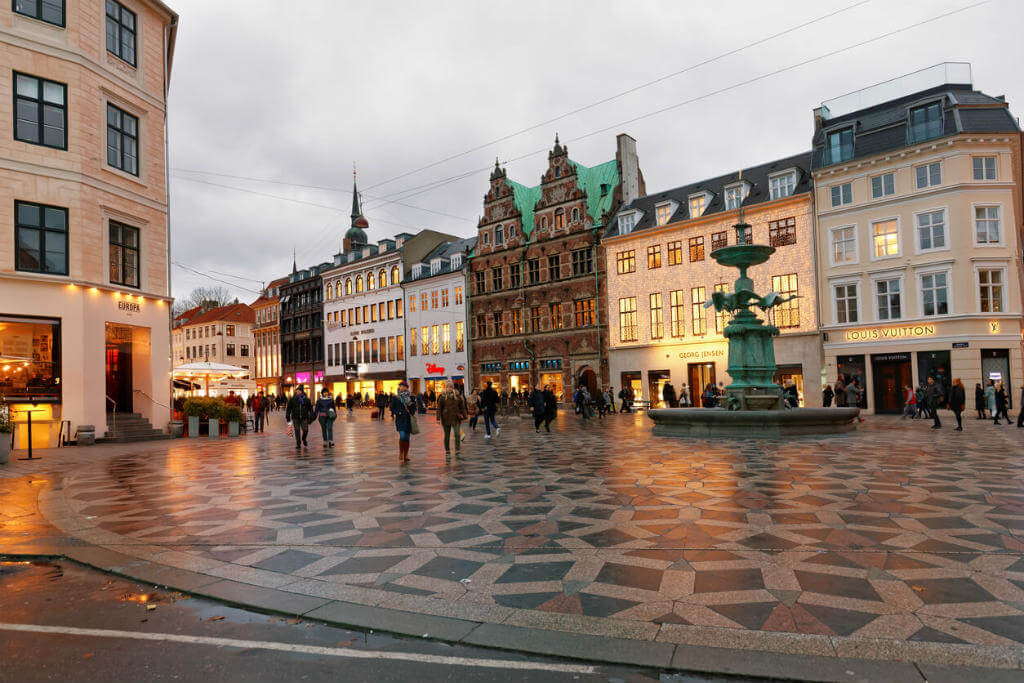 Viaje a Dinamarca, Plaza de Amagertorv