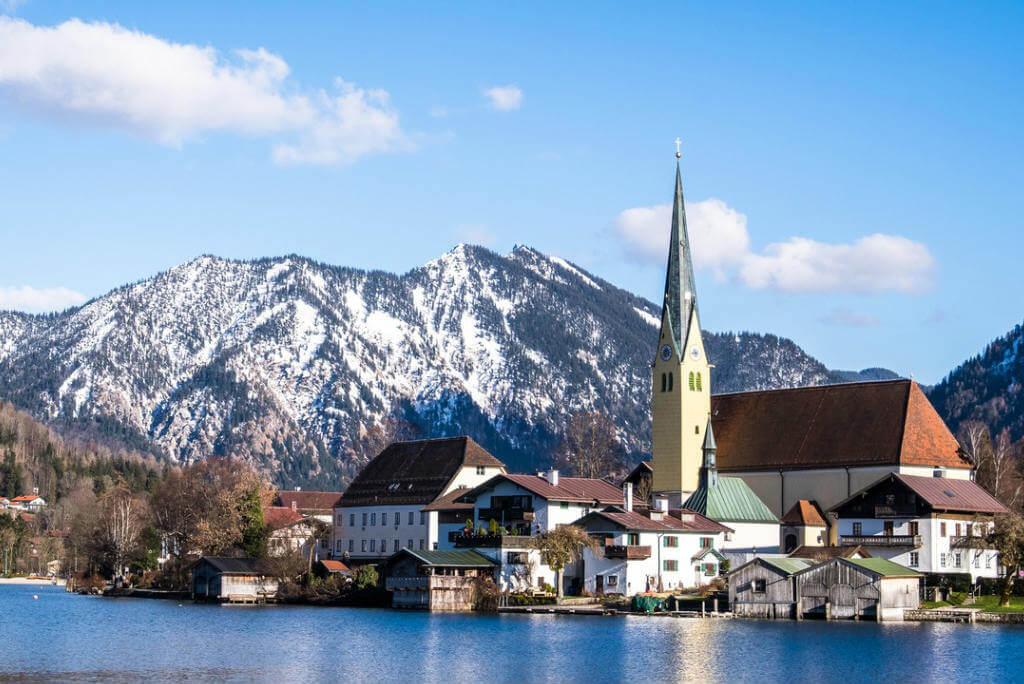 Vuelos a Alemania, Baviera nevado