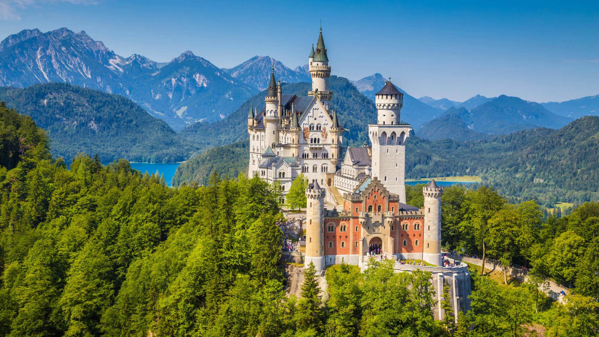 Vuelos a Alemania, Castillo de Neuschwanstein