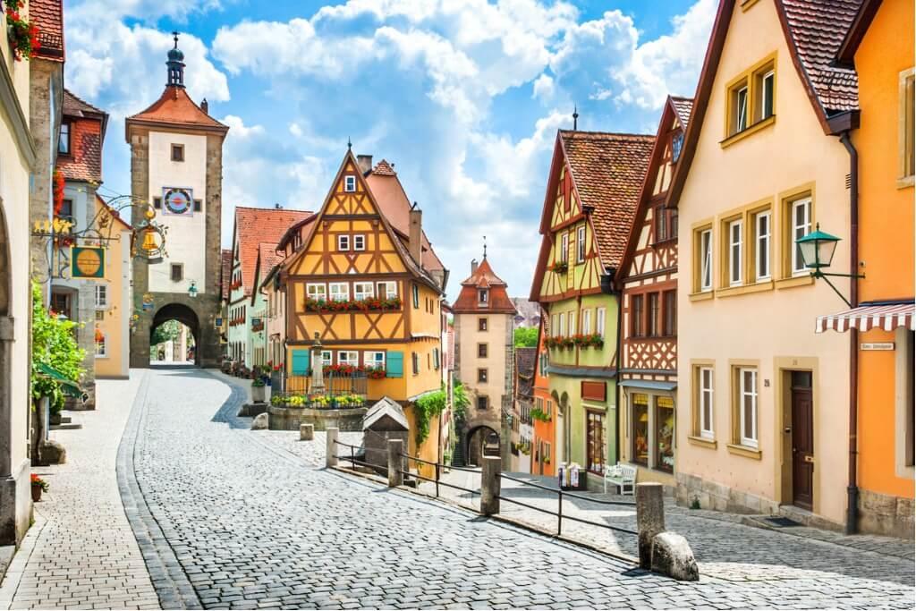 Vuelos a Alemania, Pueblo de Baviera