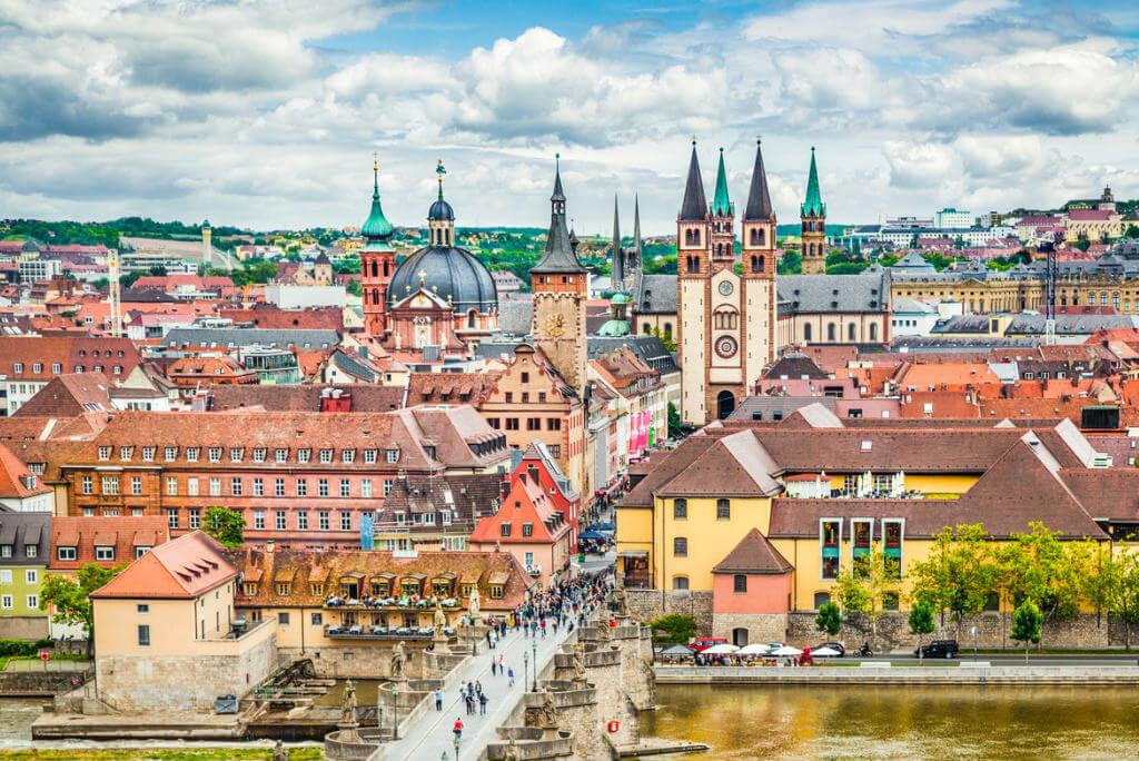 Vuelos a Alemania, Wurzburg