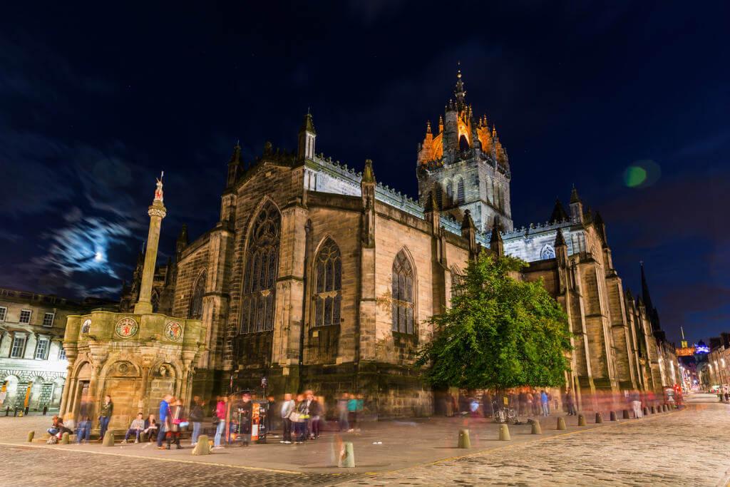 Vuelos a Edimburgo, Catedral de St. Giles