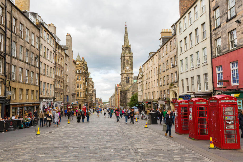 Vuelos a Edimburgo, Royal Mile