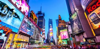 Vuelos a Estados Unidos, Times Square