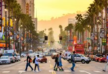 Vuelos a Los Ángeles, Hollywood Boulevard
