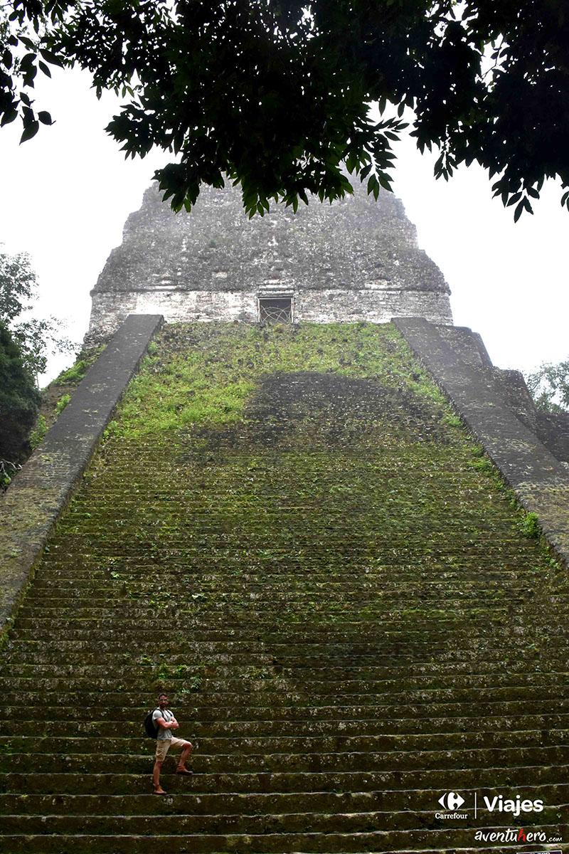 Aventuhero en Guatemala - En las ruinas de Tikal