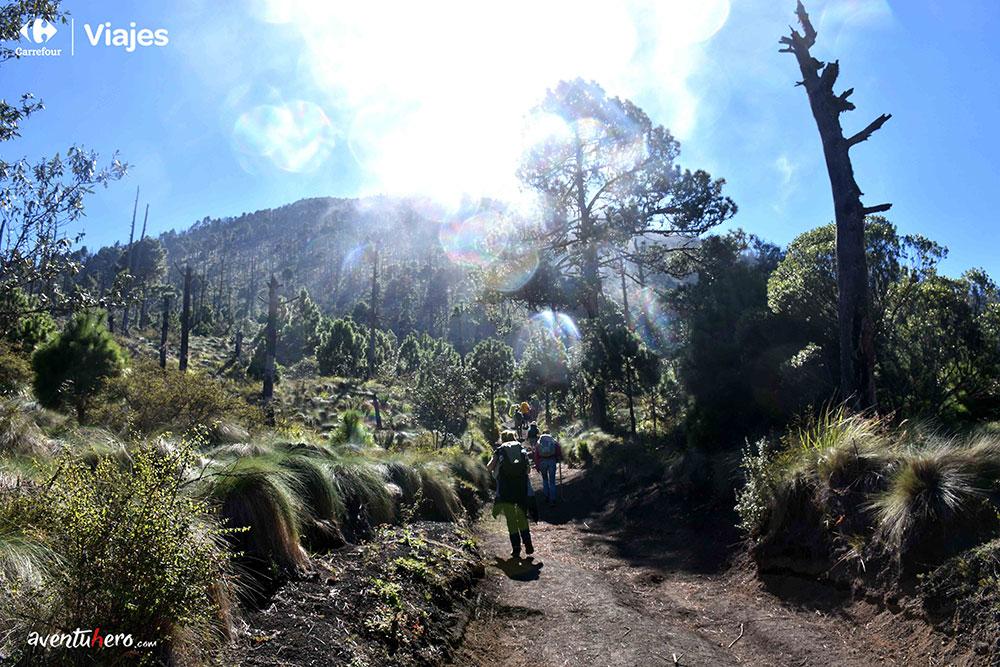 Aventuhero en Guatemela Comienzo del ascenso